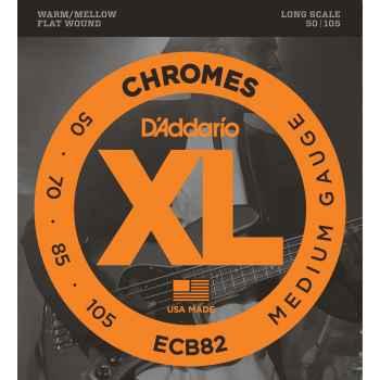 D´addario ECB82 Chromes Bass cuerdas para bajo